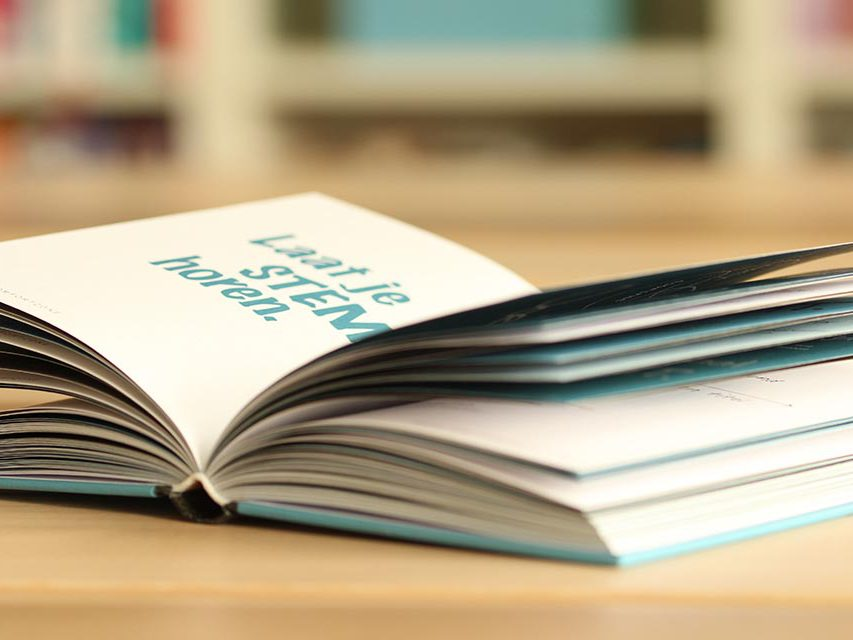 hoe een vraag tot een boek leidt